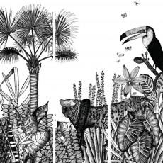 Bien Fait Papier-peint the Wild 273x280 cm - 3 lés-listing