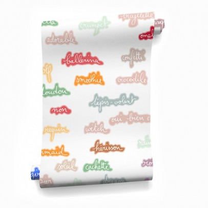 Bien Fait Babble 182x280cm Wallpaper - 2 strips-listing