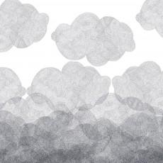 Bien Fait Carta da Parati Cloudy 182 x 280 cm - 2 lés-listing