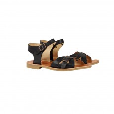 Young Soles Pearl Leather Sandals-listing