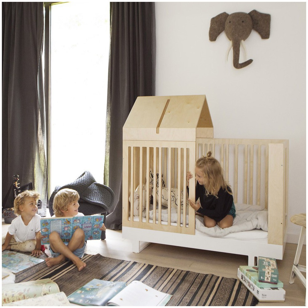 Kutikai Umbausatz mit Hausdach für 70×140cm Bett-product
