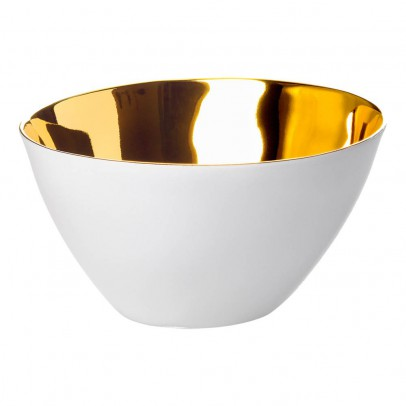 Tse & Tse Platinum-Porcelin Hungry Man Small Bowl - Sold In Packs of 2-listing