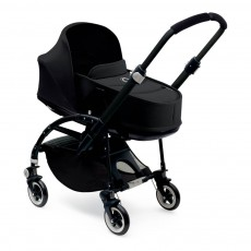 Bugaboo BEE³ Black Frame Complete Pushchair with Bassinet, Black-listing