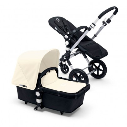 Bugaboo CAMELEON³ Alu Frame Complete Pushchair, Black Base, Off-White-listing