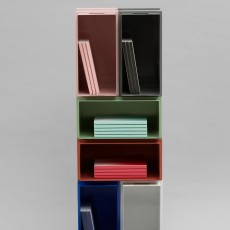 Normann Copenhagen Casier de rangement Color Box superposable-listing
