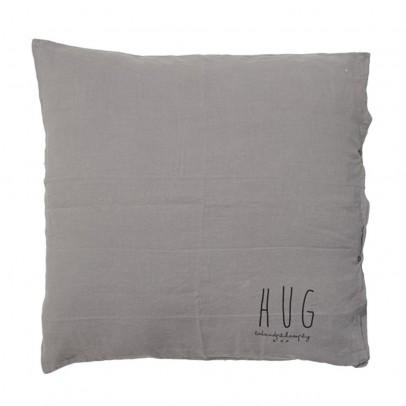 Bed and philosophy Cojín lino lavado serigrafiado 80x80cm-listing
