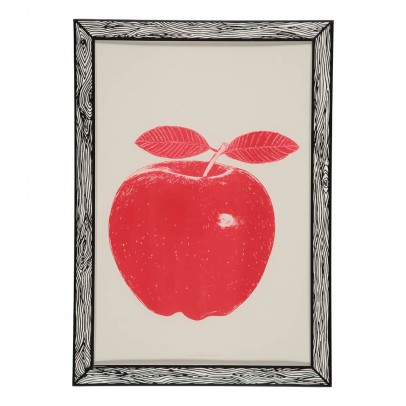 THE prints by Marke Newton Apple Poster 29.7 x 42cm-listing