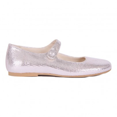 Manuela de Juan  Mimi Iridescent Leather Baby Shoes-listing
