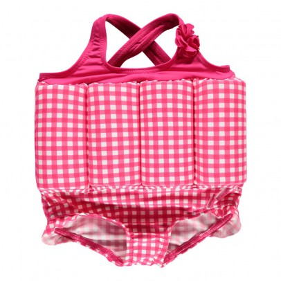 Archimède Buoy Gingham One Piece Swimsuit-listing