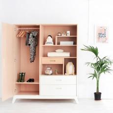 Nobodinoz White Wardrobe-product