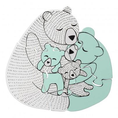 Bloomingville Kids Puzzle familia oso-listing