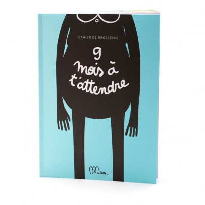 "Minus Editions ""9 months waiting"" pregnancy notebook-listing"