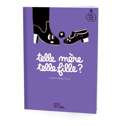 """Minus Editions Cahier mère/fille """"Telle mère, telle fille ?""""-listing"""
