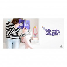 "Minus Editions Mother/daugther ""Like mother, like daughter"" notebook-listing"