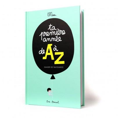 """Minus Editions Cahier de naissance """"Ta première année de A à Z""""-listing"""
