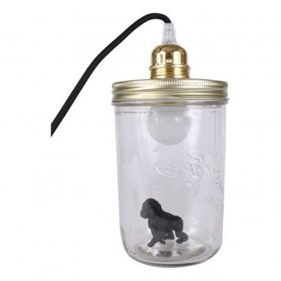 La tête dans le bocal Lámpara bocal para apoyar King Kong-listing
