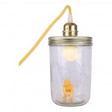 La tête dans le bocal Jar Lamp - King Kong-listing