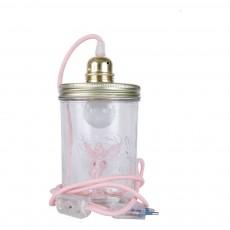 La tête dans le bocal Jar Lamp -Fairy-listing