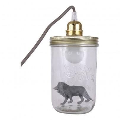 La tête dans le bocal Lampada boccale da tavolo leone-listing