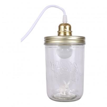 La tête dans le bocal Jar Lamp - Bunny-listing