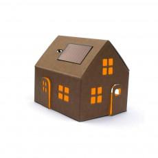 Litogami Haus-Nachtlicht Solarenergie zum Zusammenbauen-listing