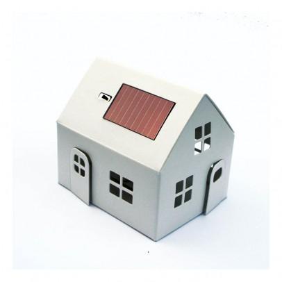 Litogami Maison-veilleuse à energie solaire à construire-listing