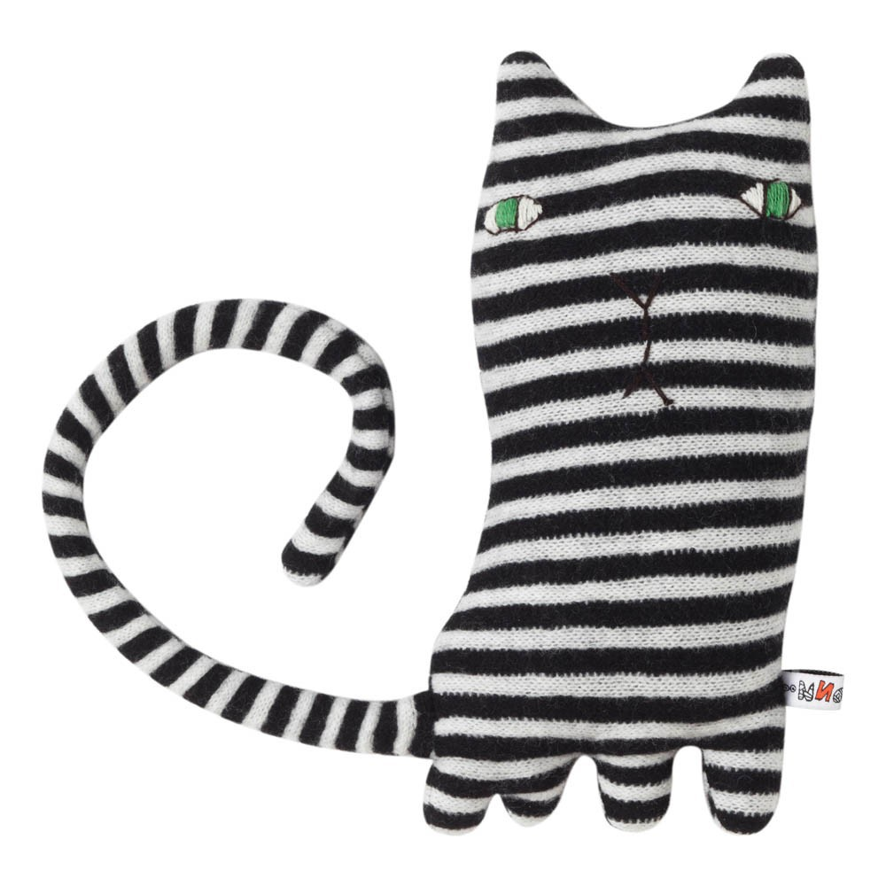 Donna Wilson Mono Cat Teddy Bear 24 cm -product