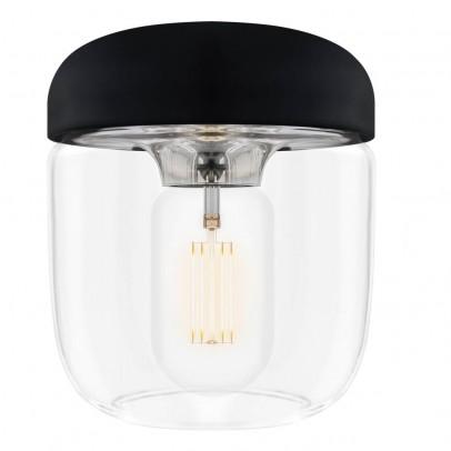 Vita Black Acorn Ceiling Light-listing