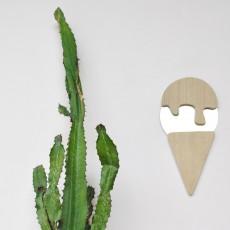 April Eleven Ice-cream cornet mirror-listing