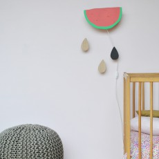 April Eleven Applique pastèque-listing