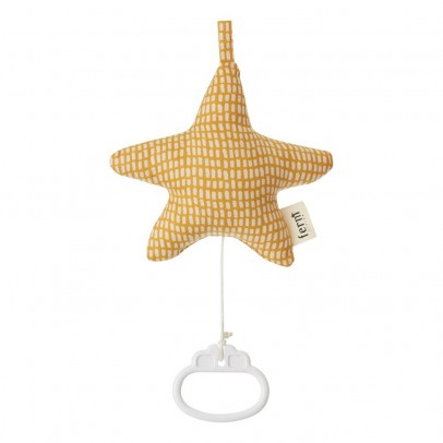 Ferm Living Mobile Musical Cotton Star-product