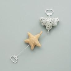 Ferm Living Móvil musical estrella de algodón-product