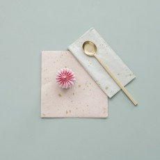 Ferm Living Servilletas de papel estampado oro - Set de 20-product