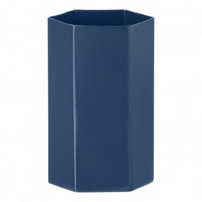 Ferm Living Vase Hexagon en métal H12cm-product