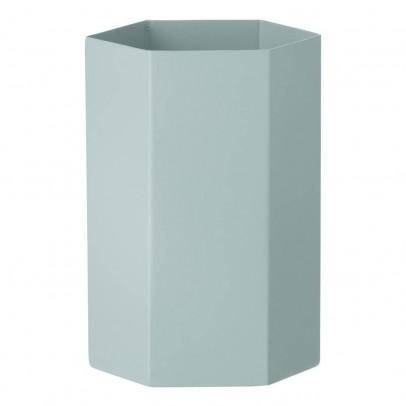 Ferm Living Vase Hexagon en métal H15cm-listing