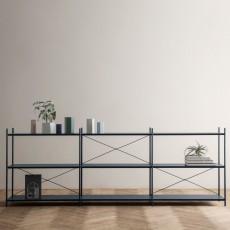 Ferm Living Jarrón Hexágono de metal Altura 15 cm-product
