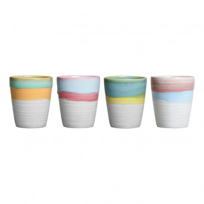 Klevering Irregular Anouck Cups - Set of 4-listing