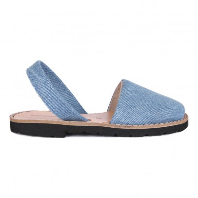 Minorquines Sandales Toile Denim Avarca-listing