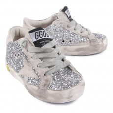 Golden Goose Baskets Superstar à Paillettes-listing