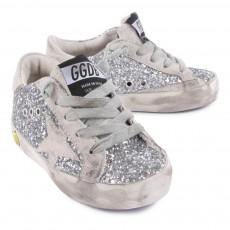 Golden Goose Superstar Sequined Sneakers-listing