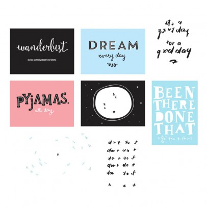 A little lovely company Affiches Fun pour Poster Ligthbox - Set de 8-product