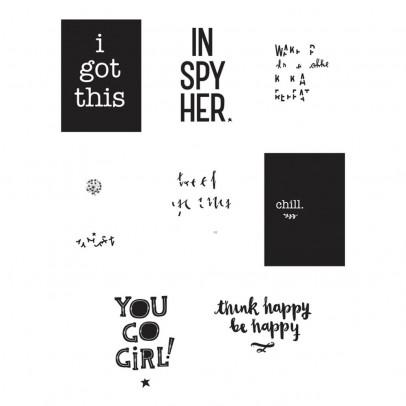 A little lovely company Manifesti Inspire per Poster Lightbox - Set da 8-listing