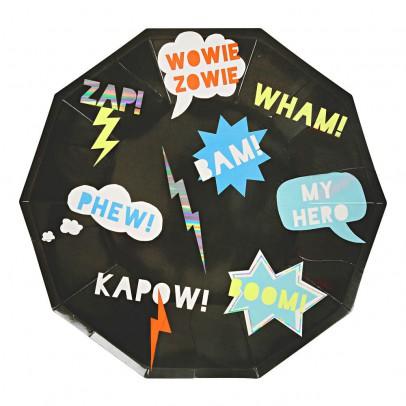 Meri Meri Super Heros Paper Plates - Set of 8-listing