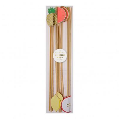 Meri Meri Bâtons mélangeurs fruit - Set de 12-listing