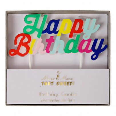 Meri Meri Happy Birthday Candle-product