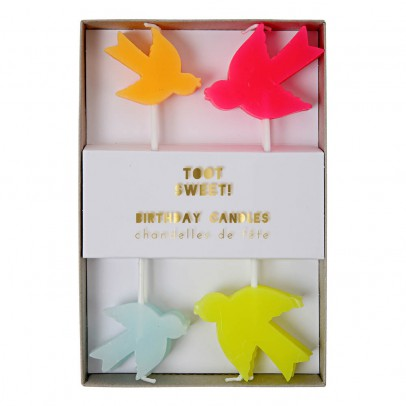Meri Meri Bird Candles - Set of 8 -product