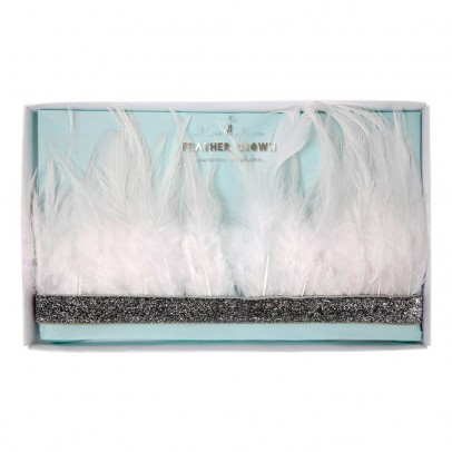 Meri Meri Crown with feathers -listing