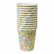 Meri Meri Liberty Poppy & Daisy Paper Cups - Set of 12-listing