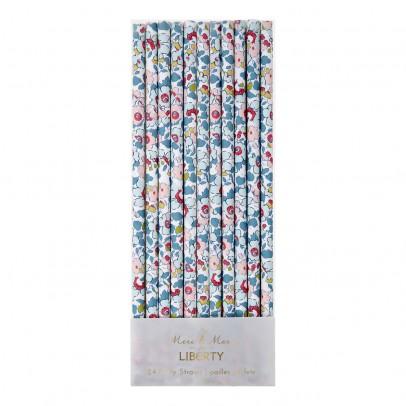 Meri Meri Pailles en papier motif Liberty Betsy - Set de 24-listing