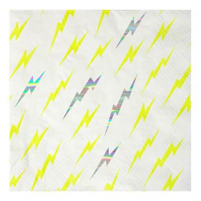 Meri Meri Lighting paper plates - Set of 16-listing